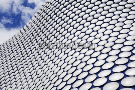 abstract view of the selfridges building