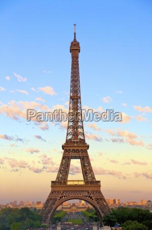 turm europa paris frankreich plaetze orte