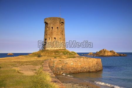 jersey round tower le hocq st