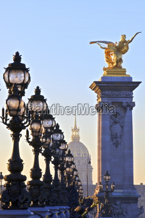 looking across the pont alexandre iii