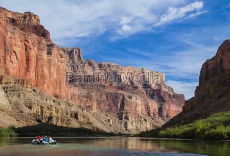 rafting down the colorado river grand