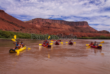 rafting on the upper colorado river