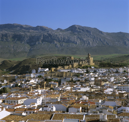 alcazaba and old town antequera andalucia