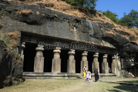 cave temple on elephanta island unesco