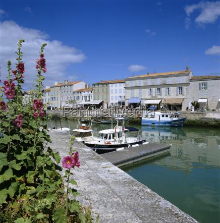 the harbour st martin ile de