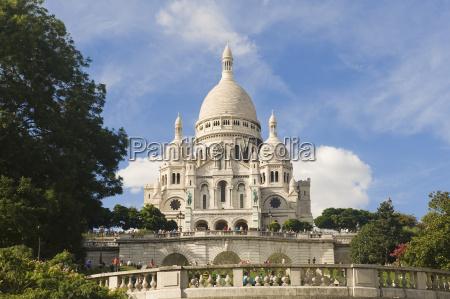basilica sacre coeur montmartre paris france
