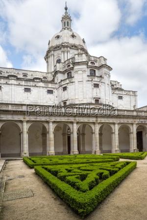 basilica dome mafra national palace mafra