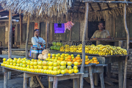 fruit stall along the road fort
