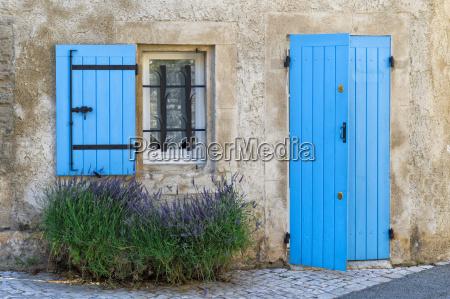 blue shutter and door saint remy