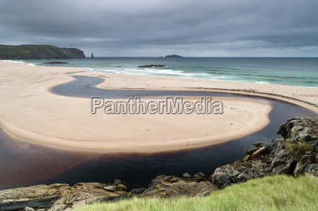 sandwood bay cape wrath durness scotland