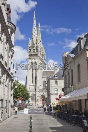 saint corentin cathedral quimper finistere brittany