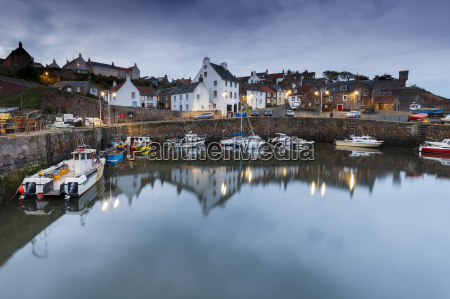 fishing boats in the harbour at