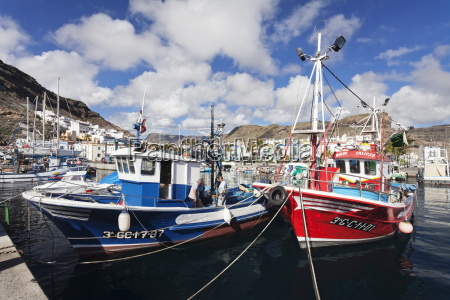 fishing boats at the old port