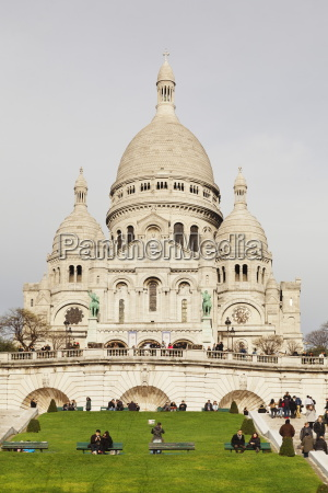 basilica of sacre coeur montmartre paris