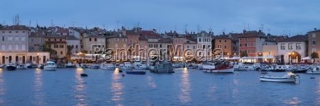 panoramic image of the waterfront and