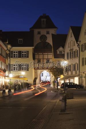 old town of meersburg lake constance