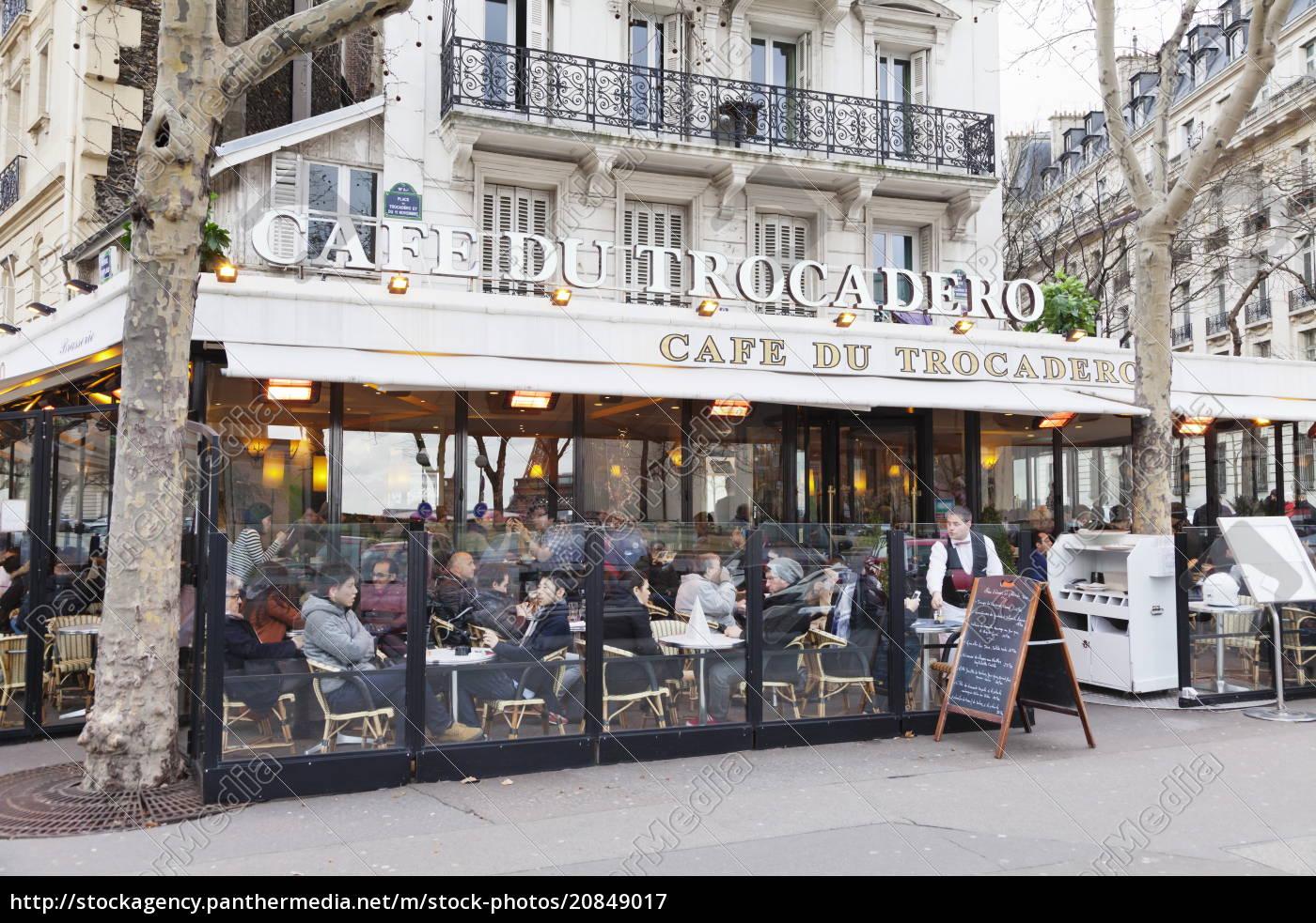 cafe, du, trocadero, trocadero, paris, ile, de, france, frankreich, europa - 20849017