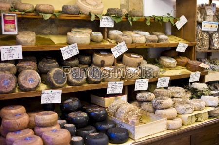 italienische handwerkskaese shop del bottega naturista