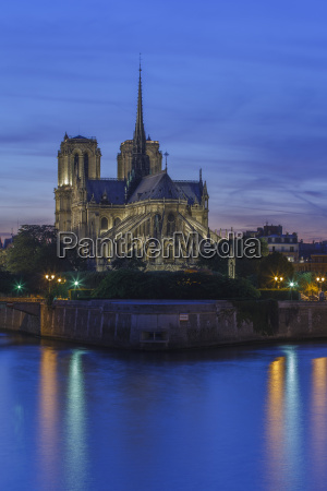 die, mittelalterliche, kathedrale, notre, dame, auf - 20852357