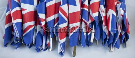 union jack flag pa servietter som