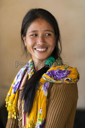 a nepali woman nepal asia