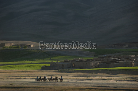 a small village in bamiyan province