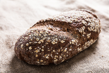freshly baked cereal bread