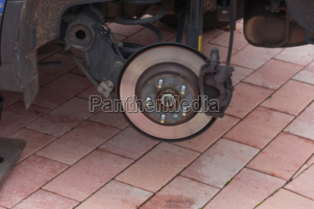 brake system of an off road