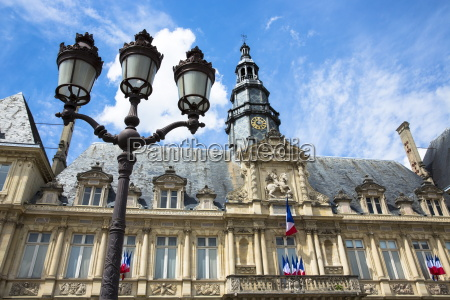 hotel de ville town hall and