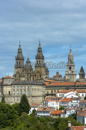 catedral de santiago de compostela roman