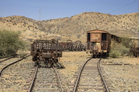 old coaches of the italian railway