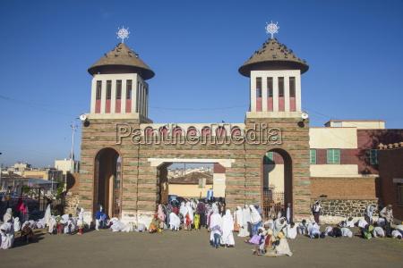 coptic cathedral of st mariam asmara