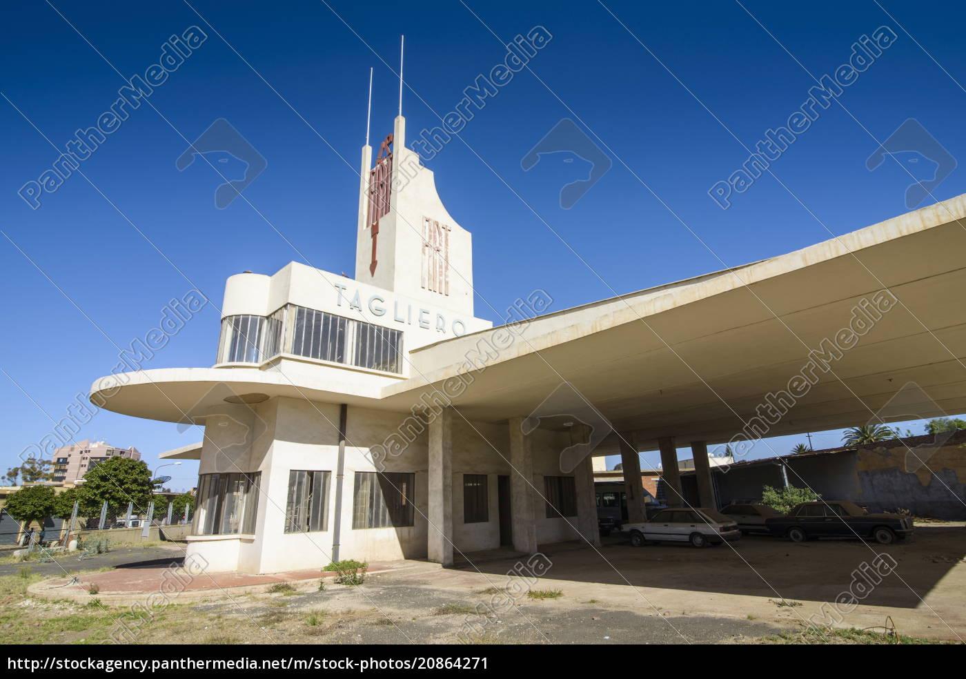 fiat, tagliero, asmara, die, hauptstadt, von, eritrea, afrika - 20864271