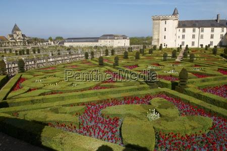 chateau de villandry and garden unesco