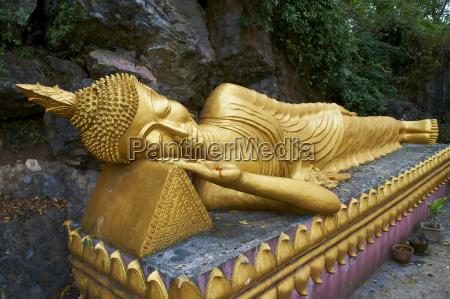 statue of buddha phu si hill