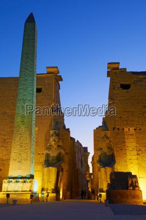 obelisk of ramesses ii temple of