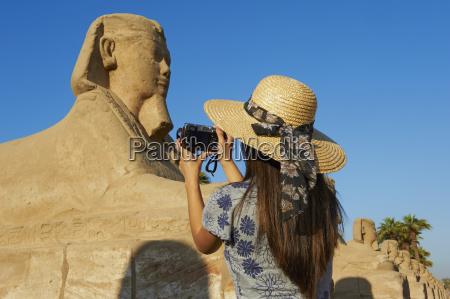 tourist taking a photo on the