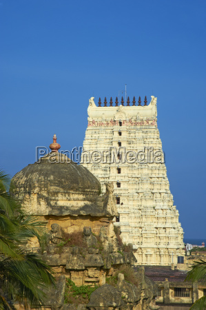 ramanatha swami rameswaram tamil nadu india