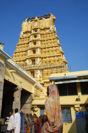 pilgrim sri chamundeswari temple chamundi hill