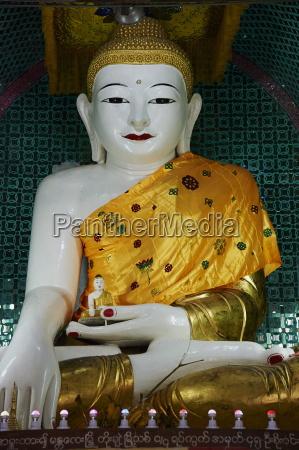 buddha statue mandalay hill mandalay myanmar