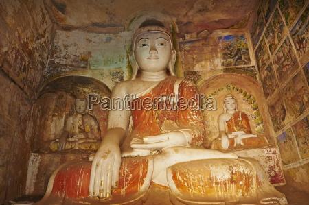 buddha statue in the po win