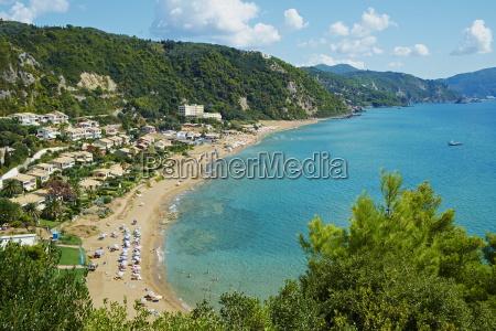 myrtiotissa beach corfu ionian islands greek