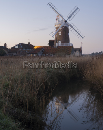 a view of cley mill at