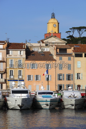 yachts in harbour of old town