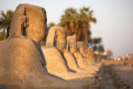 luxor temple luxor thebes unesco world