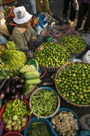 fresh fruit and vegetables at food