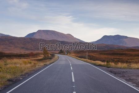 the main road through rannoch moor
