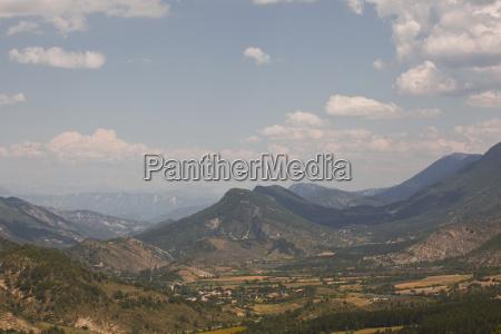 the view towards montagne de lure