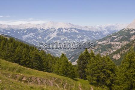 the col de la par mountain