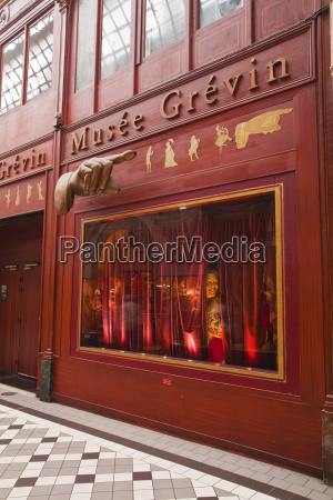 musee grevin in passage jouffroy central